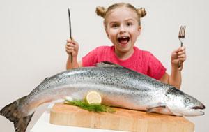 bambini pesci